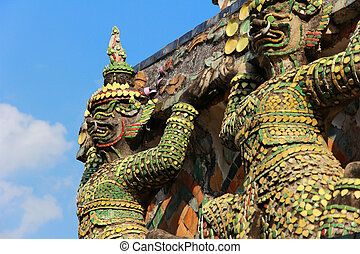 riesig, in, der, temple.