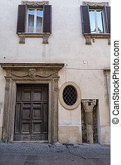 Rieti (Italy), historic building