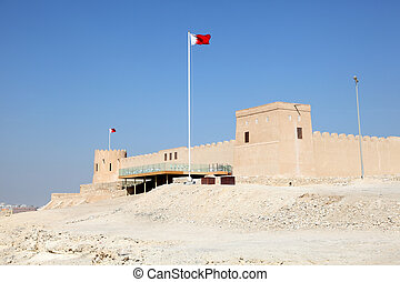 Riffa fort in Bahrain. Middle East