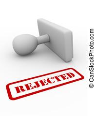 rifiutato