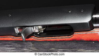 Rifle charging handle