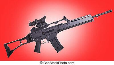 rifle crime tentado