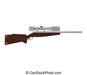 rifle firearm weapon