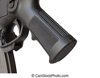 Rifle grip - Pistol grip on the back of a modern sporting...