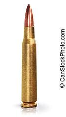 Rifle gun bullet - Creative abstract war and automatic...