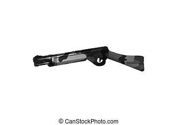 Rifle Isolated On White