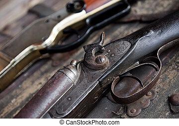 rifles, antigas