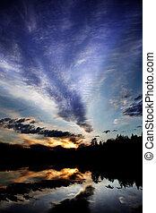 riflessione lago