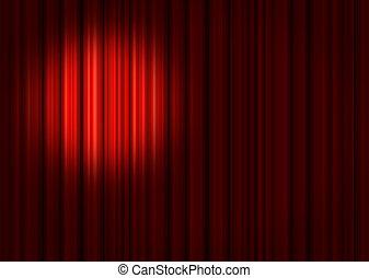 riflettore, palcoscenico