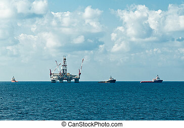 Rig move - Preparation for rig move operation in southern...