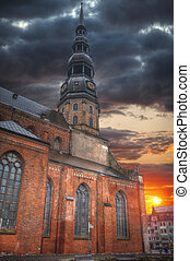 Riga Church of St. Peter