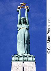 riga, libertad, monumento
