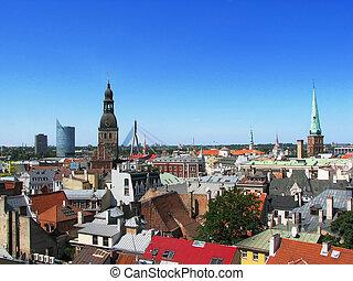 Riga roofs