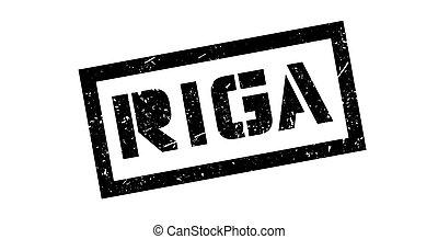 Riga rubber stamp