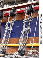 Rigging - Sail boat rigging