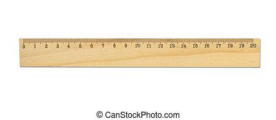 righello, legno