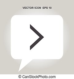 right arrow vector icon