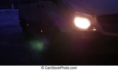 Right headlight by day car detail car s light the front...