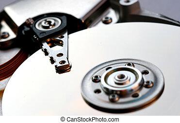 Rigid computer disk. - Rigid computer disk - storehouse of...