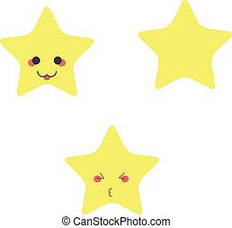 rigolote, étoiles