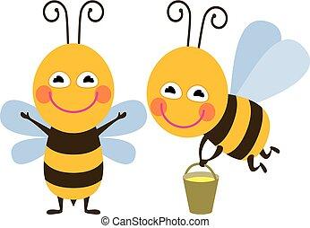 rigolote, abeilles