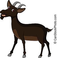 rigolote, chèvre, dessin animé
