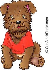 rigolote, chien, dessin animé