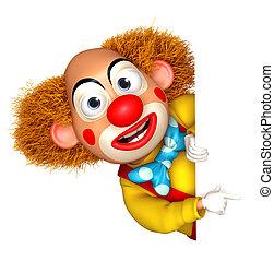 rigolote, clown