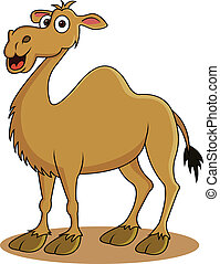 rigolote, dessin animé, chameau