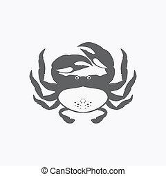 rigolote, dessin animé, crabe