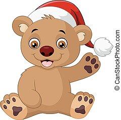 rigolote, dessin animé, ours, teddy