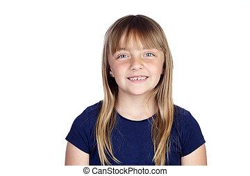 rigolote, girl, nouvelles dents