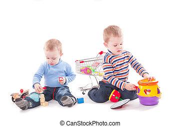 rigolote, gosses, jouer, jouets éducatifs