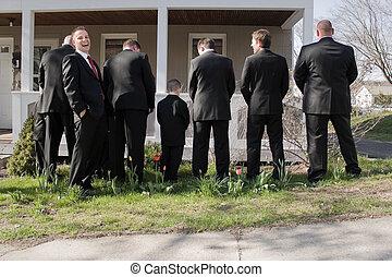 rigolote, groomsmen