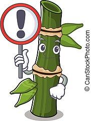 rigolote, haut, frais, élevé, signe, bambou
