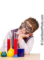 rigolote, peu, chimiste