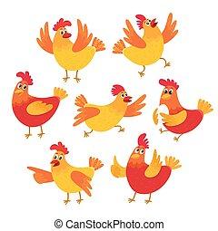 Dessin de poule rigolote ws73 jornalagora - Photos poules rigolotes ...