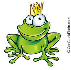 rigolote, prince, grenouille