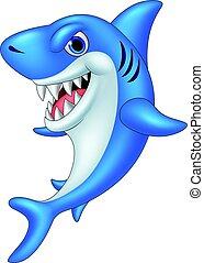 rigolote, requin, dessin animé