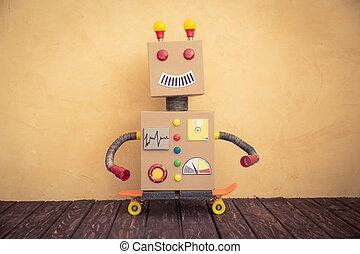 rigolote, robot jouet