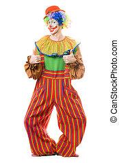 rigolote, sourire, clown