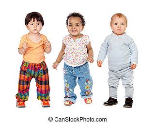 rigolote, trois enfants