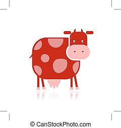 Rigolote rouges vache rigolote fleurs pr vache rouges - Photo vache rigolote ...