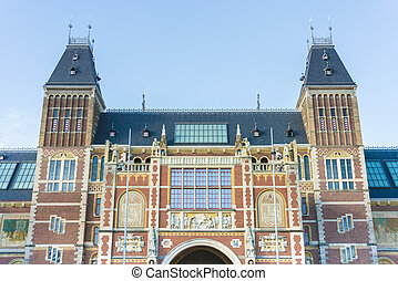 Rijksmuseum in Amsterdam, Netherlands.
