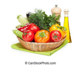 rijp, groentes