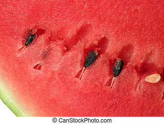 rijp, watermeloen