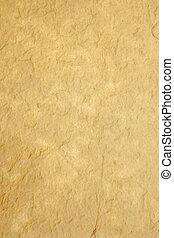 rijst, oud, papier, met de hand gemaakt, drukken