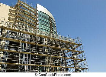 rijzen, bouwsector, hoog, onder