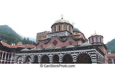 Rila Monastery pan