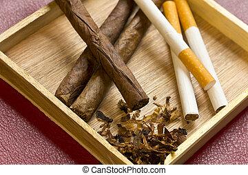 rilassamento, tabacco